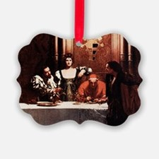 Borgia Family Painting Ornament