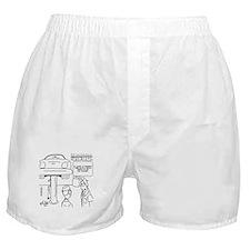 Cute Oil change Boxer Shorts
