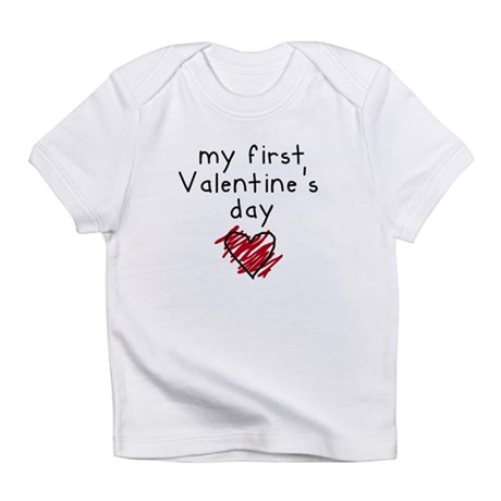 My First Valentine's Day Infant T-Shirt