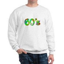 60's Flowers Sweatshirt