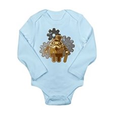 Steampunk Android (used-Look) Baby Suit