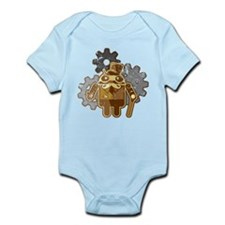 Steampunk Android (used-Look) Infant Bodysuit