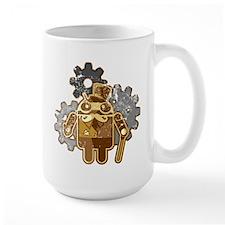 Steampunk Android (used-Look) Mug