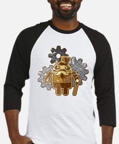 Steampunk Android (used-Look) Baseball Jersey
