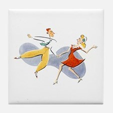 Lindy Tile Coaster