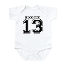 Exotic SPORT Infant Bodysuit
