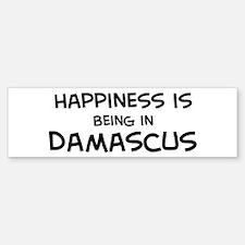 Happiness is Damascus Bumper Bumper Bumper Sticker