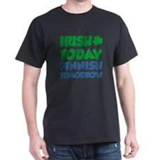 Irish Today Finnish Tomorrow T-Shirt