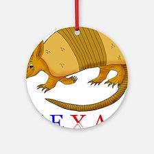Texas Ornament (Round)