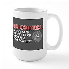 Funny! - Gun Control Mug