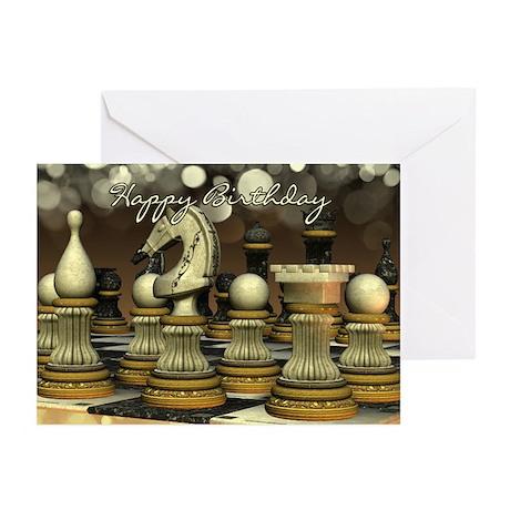 Chess Birthday Greeting Cards (Pk of 20)