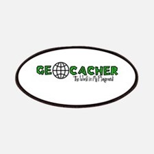 Geocacher...The World is My Playground Patches