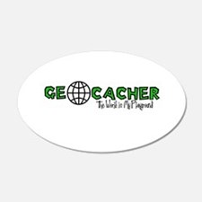 Geocacher...The World is My Playground Wall Decal
