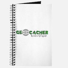 Geocacher...The World is My Playground Journal