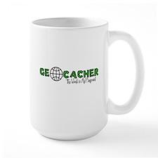 Geocacher...The World is My Playground Ceramic Mugs
