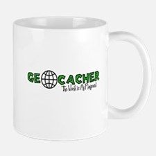 Geocacher...The World is My Playground Mug