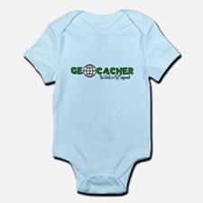Geocacher...The World is My Playground Infant Body