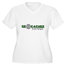 Geocacher...The World is My Playground T-Shirt