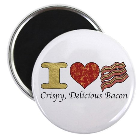 Crispy Delicious Bacon Magnet