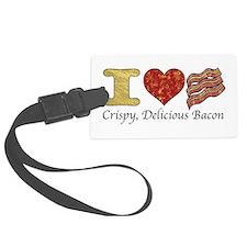 Crispy Delicious Bacon Luggage Tag