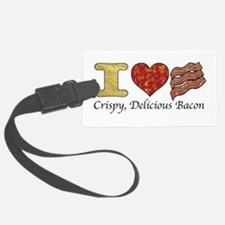 Crispy Delicious Bacon Luggage Tag