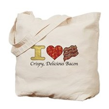 Crispy Delicious Bacon Tote Bag