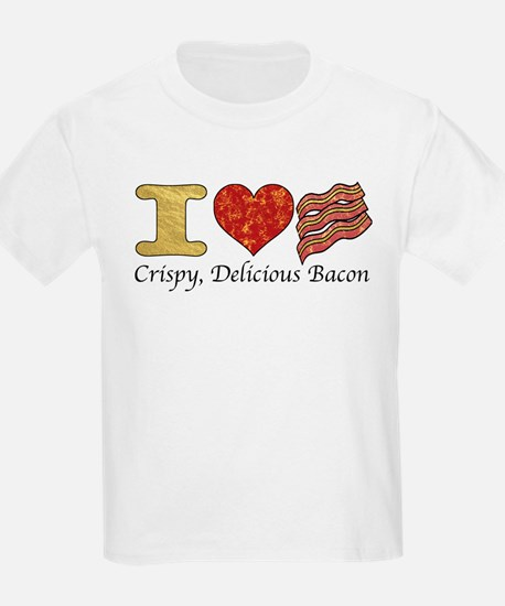 Crispy Delicious Bacon T-Shirt