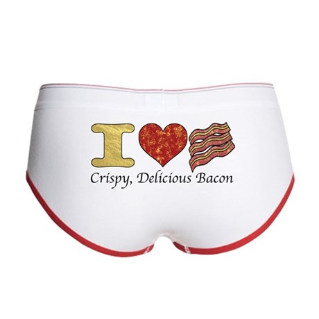 Crispy Delicious Bacon Women's Boy Brief