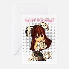 Cute Little Dress Up Girl Birthday (Pk of 20)
