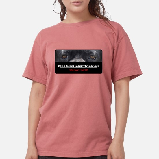 security.png Womens Comfort Colors Shirt