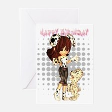 birthday card Moonies cutie dalmatian (Pk of 20)
