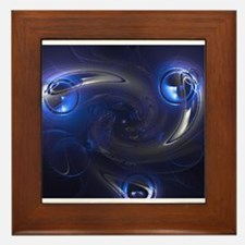 Protons; twirl don't They? Framed Tile