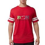 Peace Love Shih Poos Mens Football Shirt