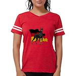German Flag Doberman Womens Football Shirt