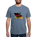 German Flag Doberman Mens Comfort Colors Shirt