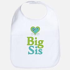 Big Sis Cute Heart 2 Bib