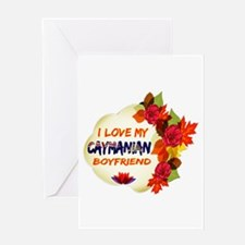 Caymanian Boyfriend designs Greeting Card