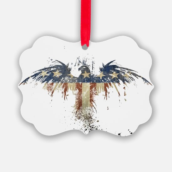 Americana Eagle Ornament