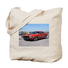 70 Shelby GT Tote Bag
