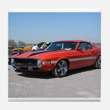 70 Shelby GT Tile Coaster