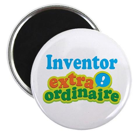 "Inventor Extraordinaire 2.25"" Magnet (10 pack)"