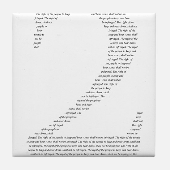 2 in words Tile Coaster