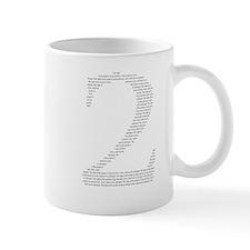 2 in words Mug