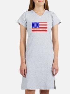 Flag with 2nd Amendment Women's Nightshirt