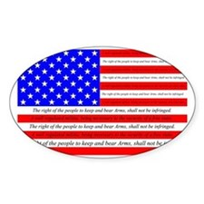 Flag with 2nd Amendment Decal