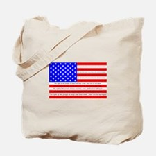 Flag with 2nd Amendment Tote Bag