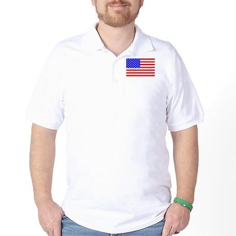 Flag with 2nd Amendment Golf Shirt