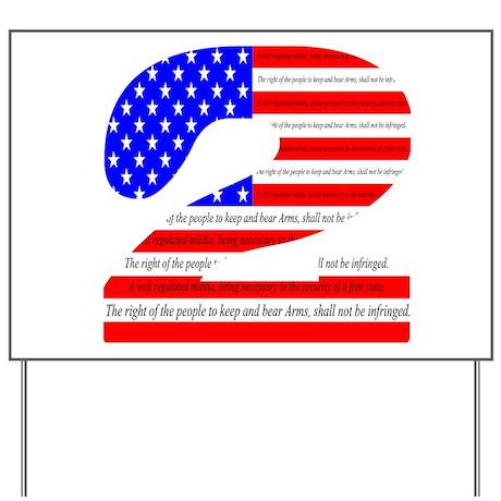 Flag2 Yard Sign