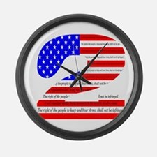 Flag2 Large Wall Clock