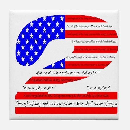 Flag2 Tile Coaster